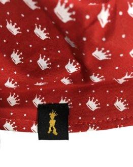 Bandana Coroa pEdRo rEi Vermelha Etiqueta 262x328 - Bandana Coroa