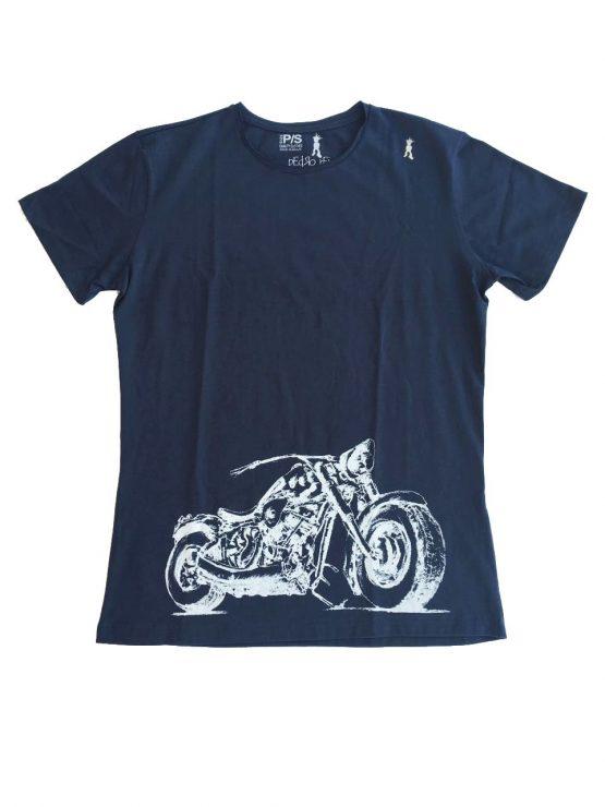 Camiseta Moto Branca Homem 555x740 - Camisa Harley Davidson Pai e Filho Branca