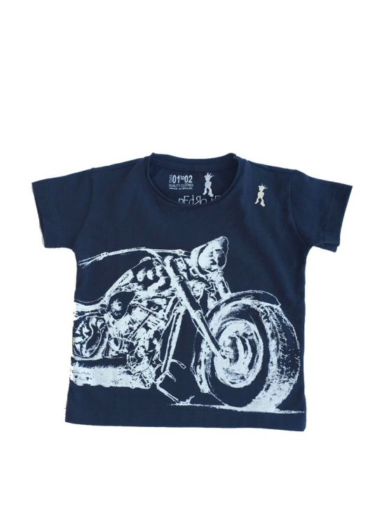 Camiseta Moto Branca HomenZiNhO 555x740 - Camisa Harley Davidson Pai e Filho Branca