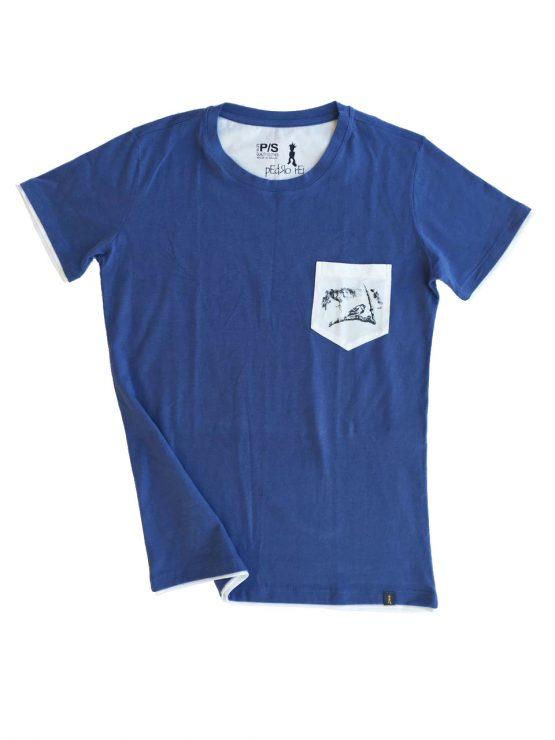 Camiseta pai e filho Homem 555x740 - Camiseta Pai e Filho Azul