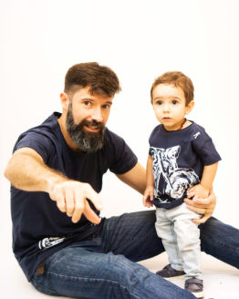 Moto Branca Tal Pai Tal Filho 02 262x328 - Camisa Harley Davidson Pai e Filho Branca