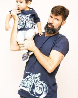 Moto Branca Tal Pai Tal Filho 262x328 - Camisa Harley Davidson Pai e Filho Branca