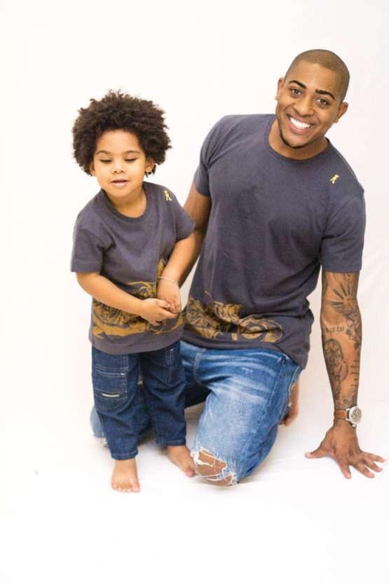 Moto tal pai e tal filho 555x833 - Camisa Harley Davidson Pai e Filho
